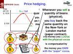 price hedging