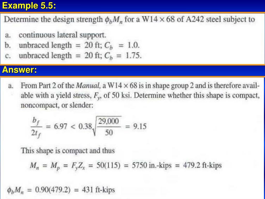 PPT - LRFD - Steel Design PowerPoint Presentation - ID:354441