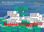 many sites on a single farm the typical asp net way