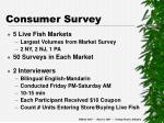 consumer survey19