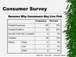 consumer survey25