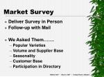 market survey