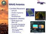 waas avionics