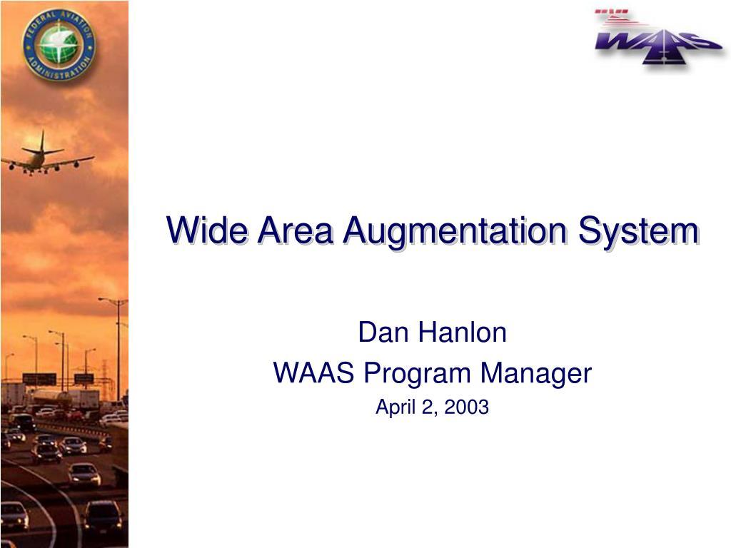 wide area augmentation system l.
