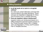 billing questions34