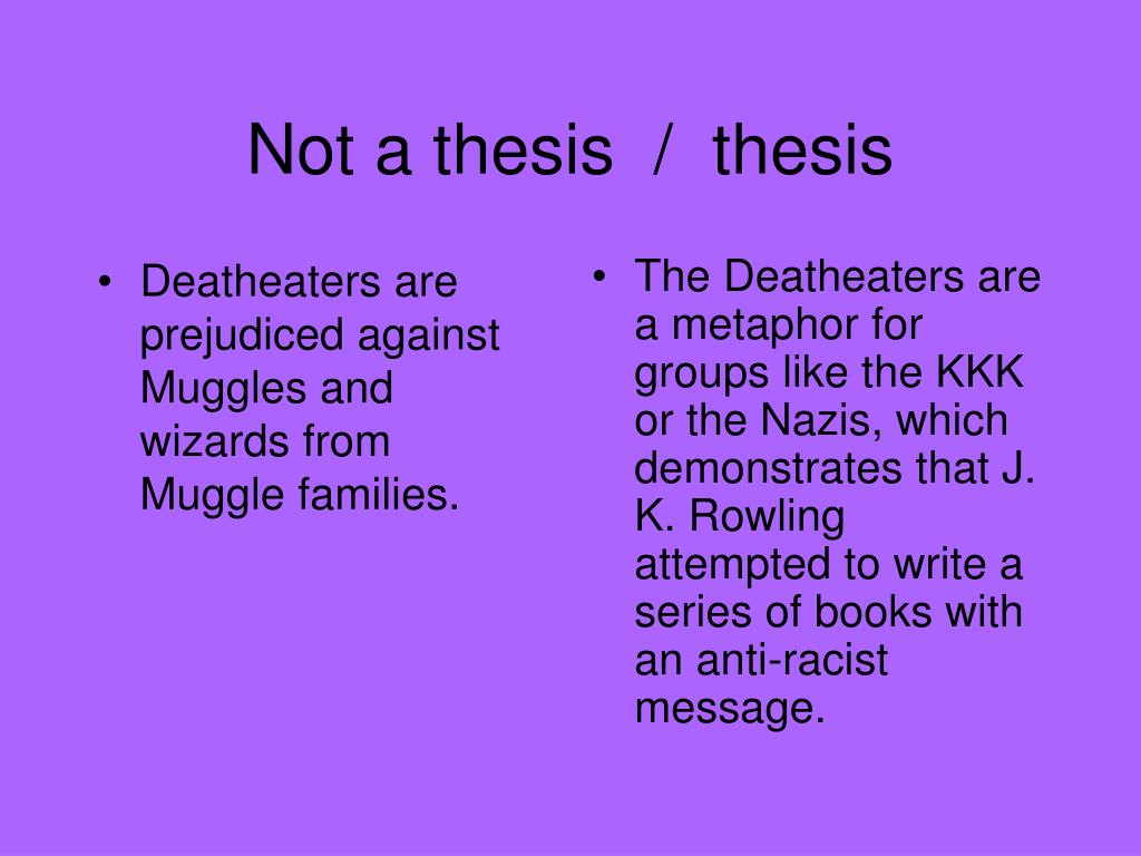 Deatheaters are prejudiced against Muggles and wizards from Muggle families.