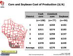 corn and soybean cost of production a