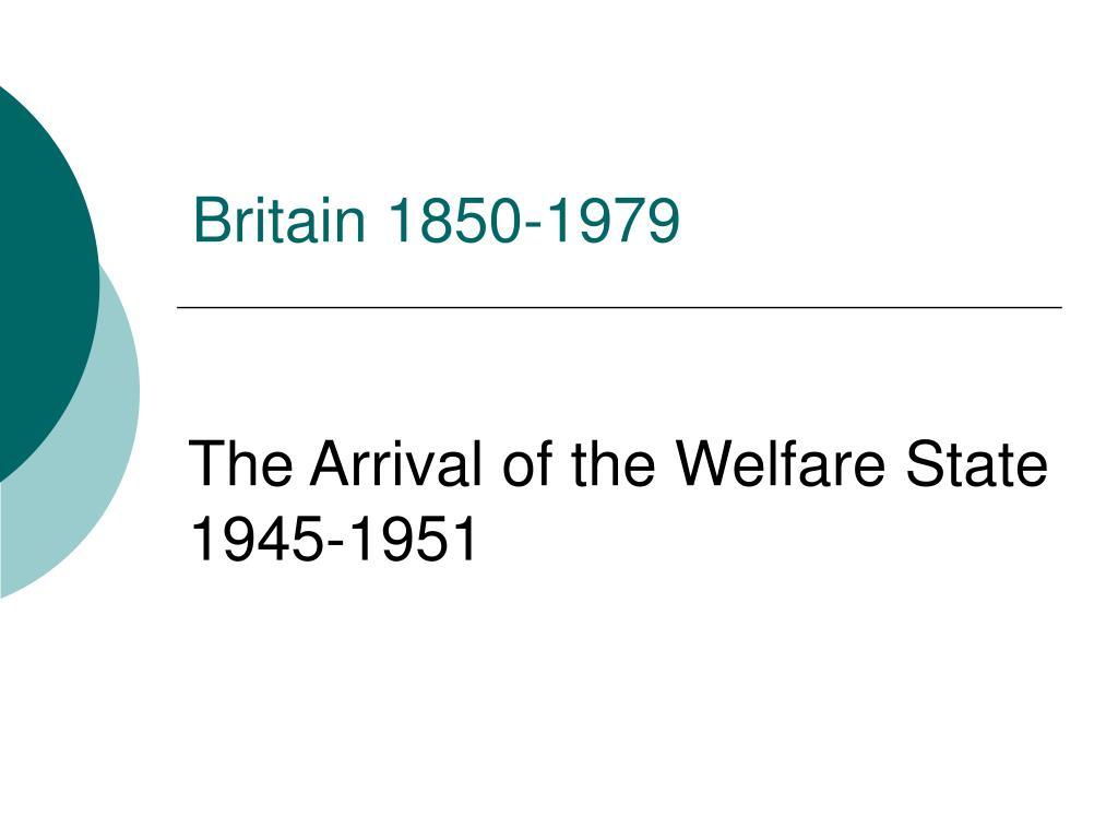 britain 1850 1979 l.