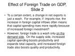 effect of foreign trade on gdp slide 2