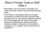 effect of foreign trade on gdp slide 3