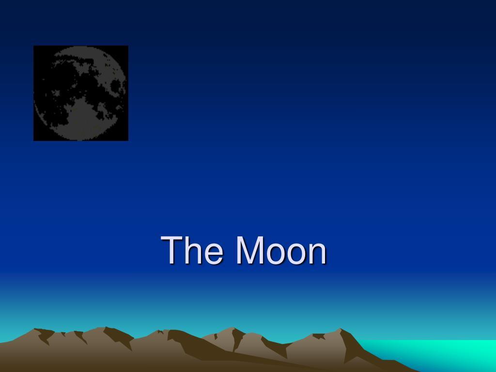 the moon l.