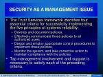 security as a management issue14