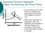 aggregate demand aggregate supply and monetary and fiscal policy36
