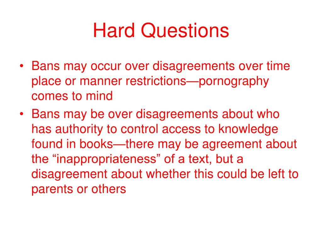 PPT - Banned Books and the Power of Ideas PowerPoint