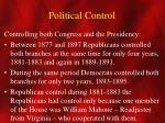 political control2