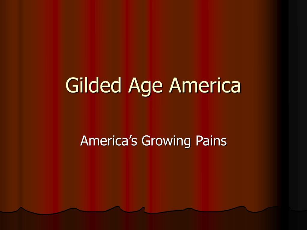 gilded age america l.