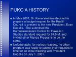 puko a history48