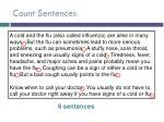 count sentences
