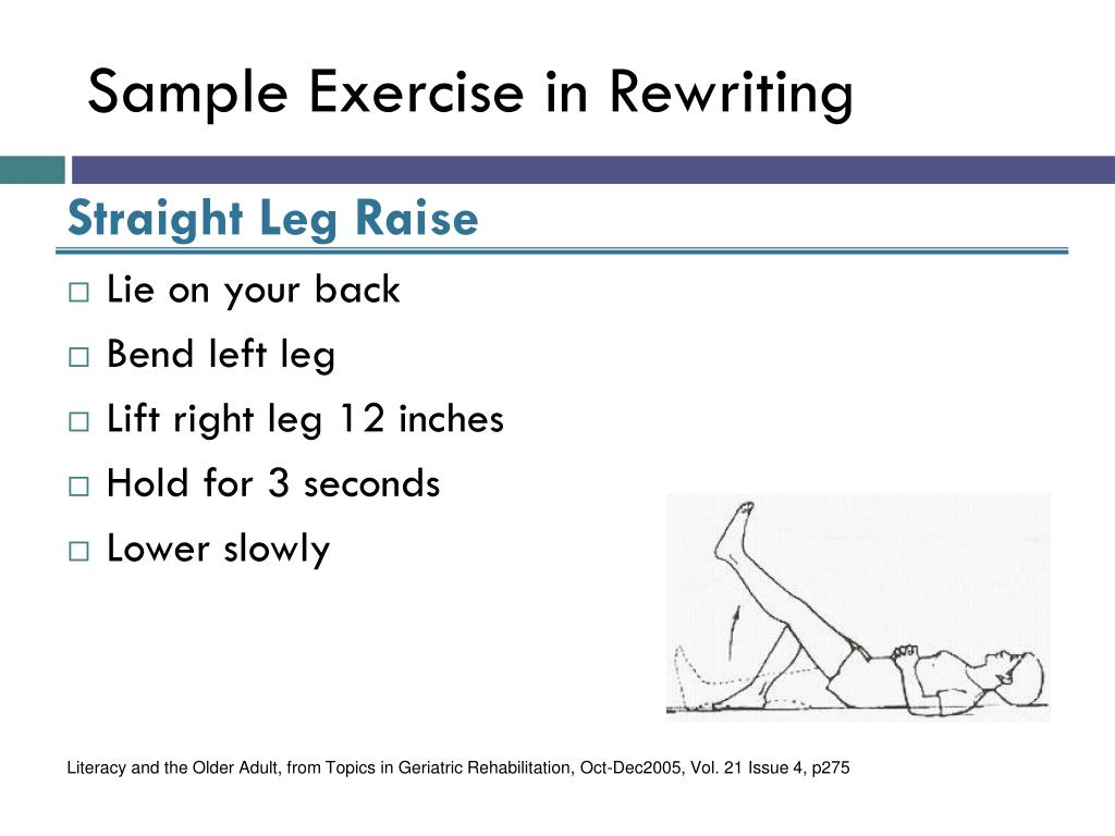Sample Exercise in Rewriting