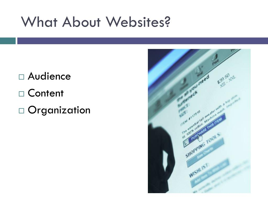 What About Websites?