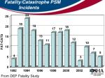 fatality catastrophe psm incidents