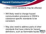hazard communication21