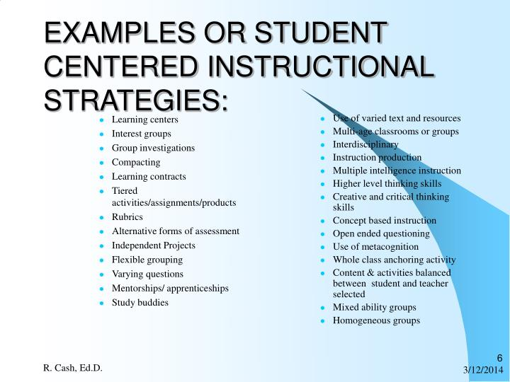 Ppt Differentiated Instruction Powerpoint Presentation Id354755