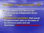 pendleton civil service act 1883