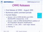 cmmi releases