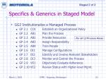 specifics generics in staged model23