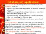 collaboratory applications