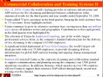 commercial collaboration and training systems ii