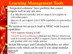 learning management tools