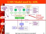 lms model used by adl