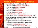 myhalld collaborative portal
