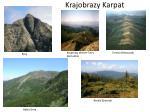 krajobrazy karpat