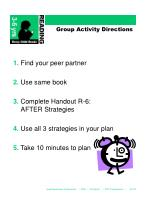 group activity directions22