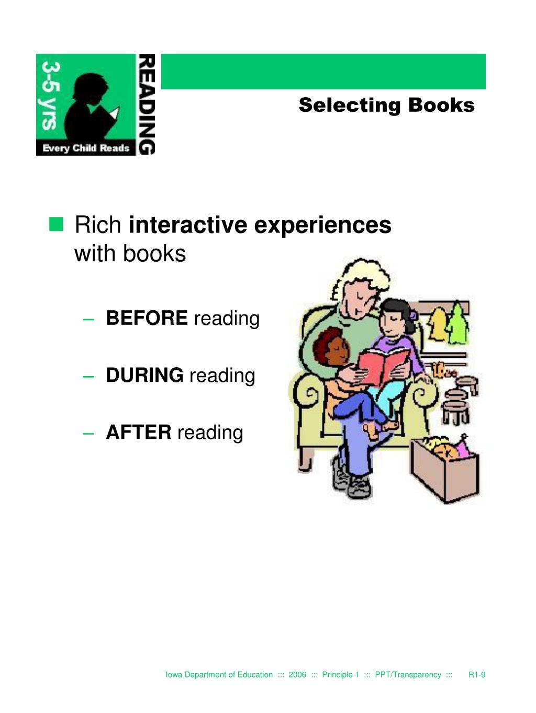 Selecting Books