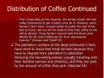 distribution of coffee continued67