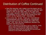 distribution of coffee continued69