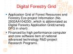 digital forestry grid
