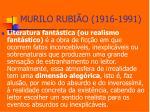 murilo rubi o 1916 19913