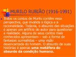 murilo rubi o 1916 19914