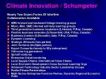 climate innovation schumpeter42