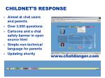 childnet s response