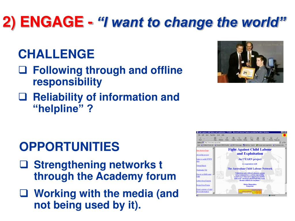 2) ENGAGE -