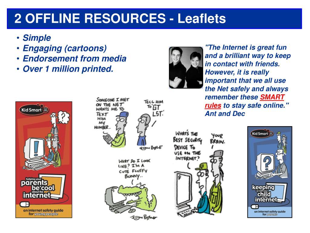 2 OFFLINE RESOURCES - Leaflets