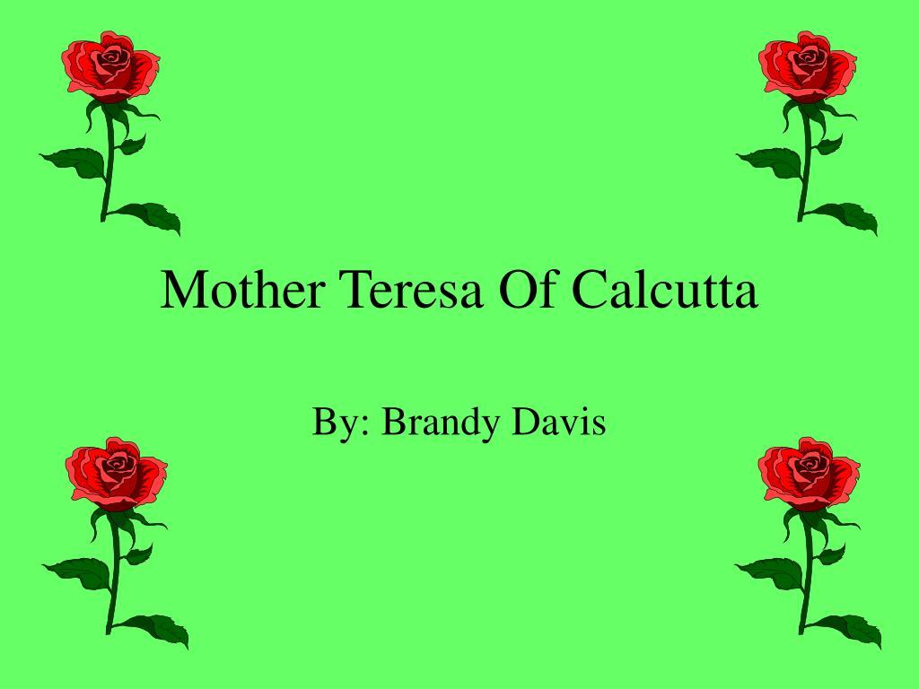 mother teresa of calcutta l.