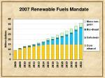2007 renewable fuels mandate