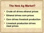 the new ag market